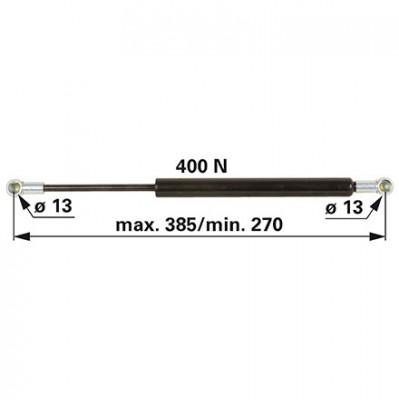 Gasdruckfeder 0.013.1659.4 für Tür zu Deutz - Fahr