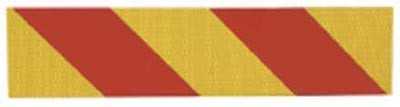 Heckmarkierungstafel für LKW u. Zugmaschinen