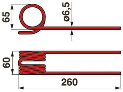 Bandrechenzinke zu Stoll - JF 0676790