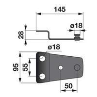 Messerhalter 950956.1 zu Claas Trommelmäher