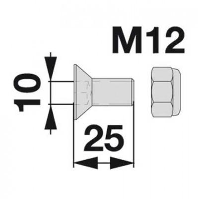 Senkschraube 01139292 zu Messerhalter Deutz-Fahr