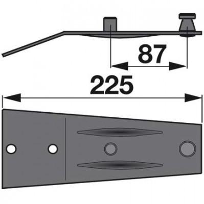 Messerhalter 06580109 zu Deutz-Fahr Trommelmäher
