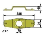 Messerhalter 938597.0 Schnellwechsel zu Claas Scheibenmäher