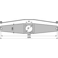 Messerhalter PZ087 zu Vicon-PZ Trommelmäher