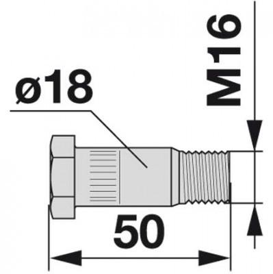Spezialschraube GT57 zu Vicon-PZ Trommelmäher