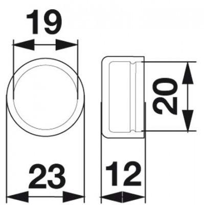 Schutzkappe zu Deutz-Fahr