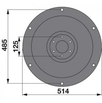Stützteller 06586949 zu Deutz-Fahr Trommelmäher