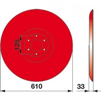 Gleitteller 06584954 zu Deutz-Fahr Trommelmäher