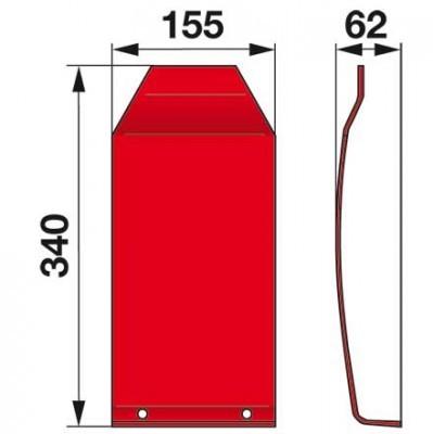 Gleitkufe 06561443 zu Deutz-Fahr Scheibenmäher