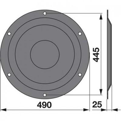 Stützteller ET51K0 zu Deutz-Fahr Trommelmäher