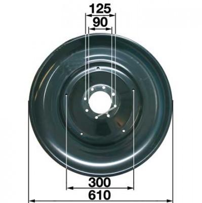 Gleitteller XD441K0 zu Deutz-Fahr Trommelmäher