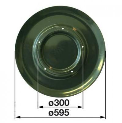 Gleitteller MC331K0 zu Deutz-Fahr Trommelmäher