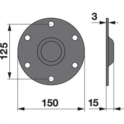 Deckel 16501229 zu Deutz-Fahr Trommelmäher
