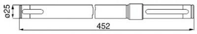 Antriebswelle 06580765 zu Deutz-Fahr vertikal
