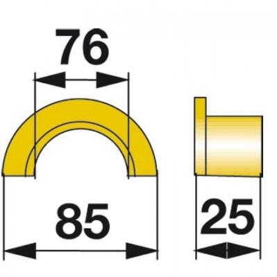 Büchsenhälfte 06567229 zu Deutz-Fahr