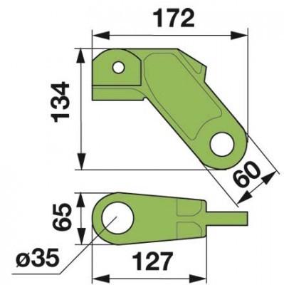 Abschlusskappe 06563635 zu Deutz-Fahr