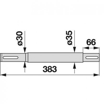 Antriebswelle 06568455 zu Deutz-Fahr horizontal