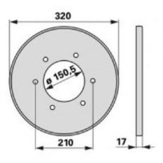 Deckel ET35K0 zu Deutz-Fahr Trommelmäher