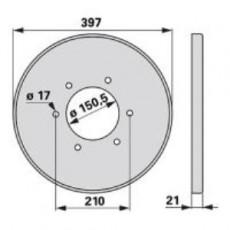 Deckel TF11K0 zu Deutz-Fahr Trommelmäher