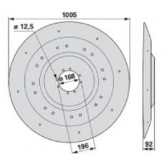Mähscheibe ET0203K0 zu Deutz-Fahr