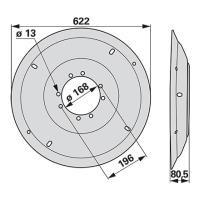 Mähscheibe außen MC054K0 zu Deutz-Fahr