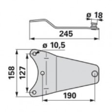 Messerhalter YA0336K0 zu Vicon-PZ Trommelmäher