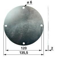 Deckel 144943.3 zu Krone Scheibenmäher