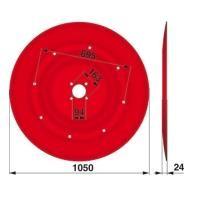 Gleitteller 1119550 zu Stoll - JF Trommelmäher