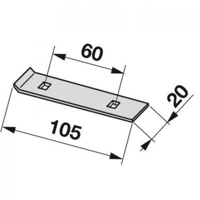 Mitnehmerleister MT0071 zu Deutz-Fahr Trommelmäher