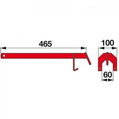 Klingelschlüssel CM059K0 zu Messerhalter Deutz-Fahr