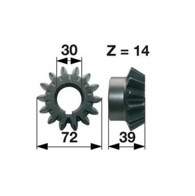 Kegelrad Z1100790 zu Deutz-Fahr