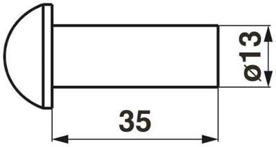 Universal  Rundkopfniete DIN 124