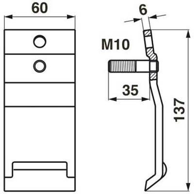 Moty-Mayer  Messerhalter-Unterfeder