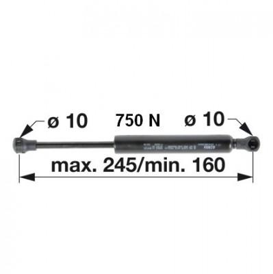 Gasdruckfeder 04416549 für Tür zu Deutz - Fahr
