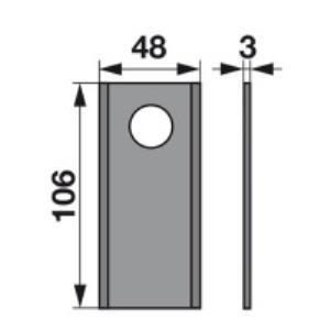 Kreiselmäherklingen 1877439 zu Busatis Trommelmäher