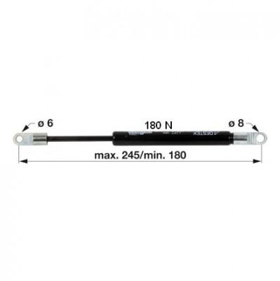 Gasdruckfeder 3221572R1 für Dachluke zu Case IH