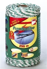 Premium-Litze, 250m, weiß/grün 3xCu 0,25 + 3xNi 0,20