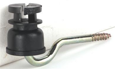 Schlitzisol. schw. 5mm-Stütze