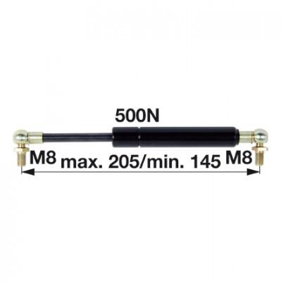 Gasdruckfeder 47108188 für Tür zu Case IH