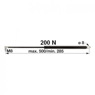 Gasdruckfeder AL60324 für Tür zu John Deere
