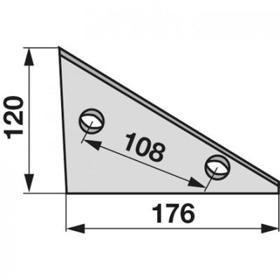 Anlage Vorderteil rechts/links 024004 zu Niemeyer