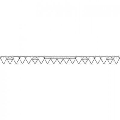 Bucher Mähmesser gezahnt 145 cm H150.054.021