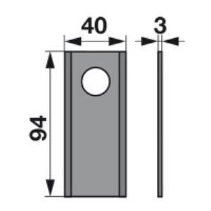 Kreiselmäherklingen 978186.0 zu Claas Trommelmäher