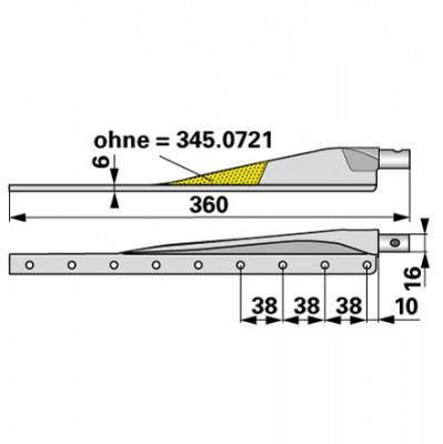 Esm Untermesserkopf 345.0700
