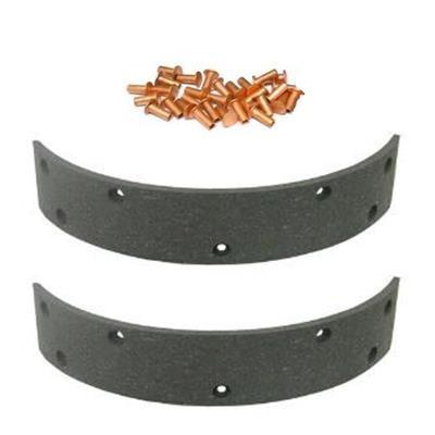 Bremsbelagsatz 2 Stück F025100070402 zu Fendt Handbremse