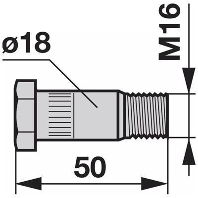 Flachrundschraube Z1197780 zu Messerhalter Deutz-Fahr