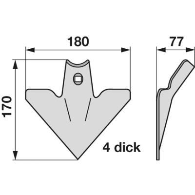 Breitschar/ Gänsefußschar RS2976 zu Einböck