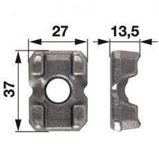 Klemmstück lose Ø 10,5 mm