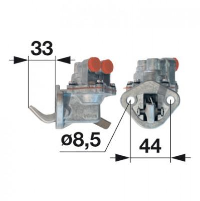 Kraftstoff Förderpumpe Dieselpumpe passend für Massey Ferguson MF 1114