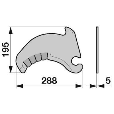 Messer 279349.1 zu Krone